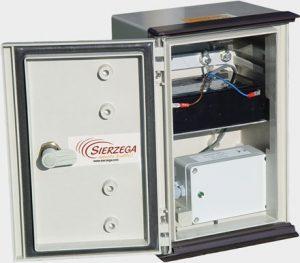 Statistický radar s otevřeným boxem demonstruje kvalitu a provedení produktu